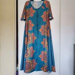 70s mumu nightgown